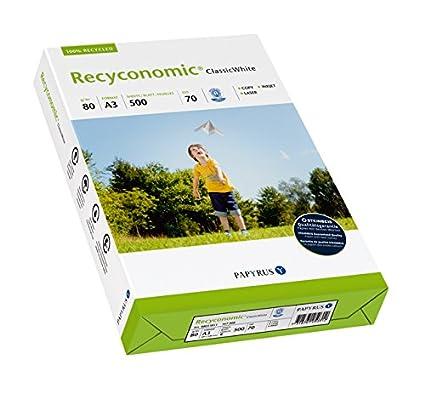Papyrus Recyconomic Classic - Papel multifunción White, DIN A3, 80 ...