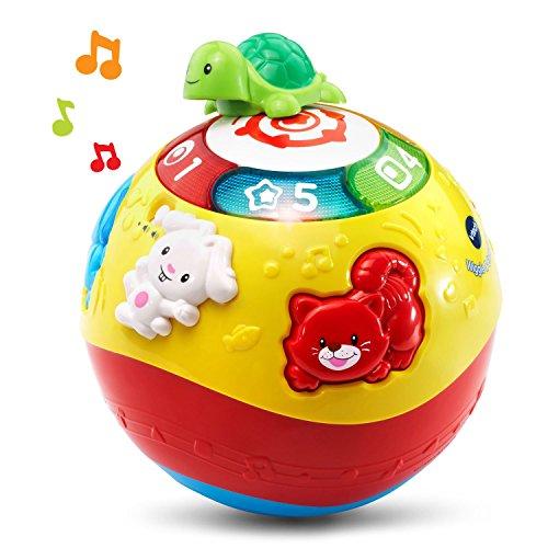 51E8aT7IdoL - VTech Wiggle & Crawl Ball Toy
