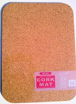 CORK BATH MATS 600MM X 450MM X 12MM