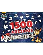 Patrulha Canina - Prancheta Para Colorir com 1500 Adesivos