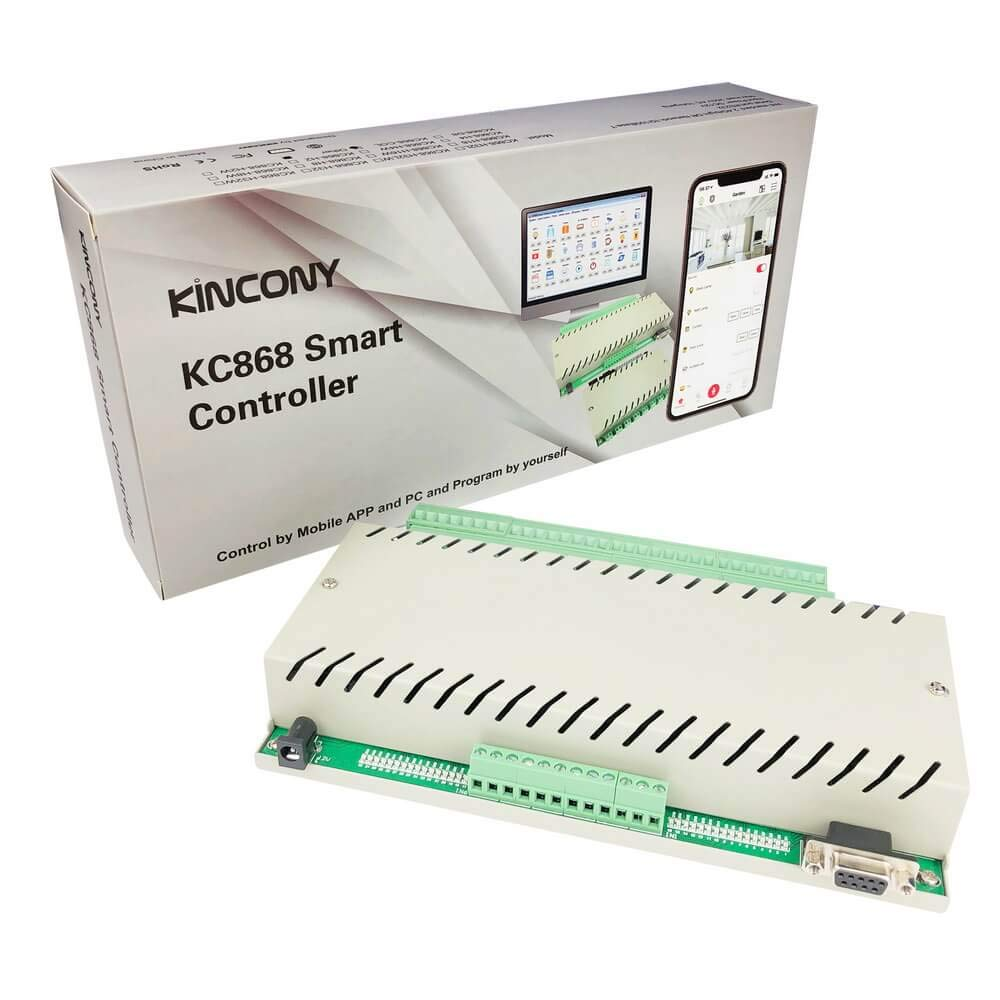 8-Channel Relay Controller 白色 TCP//IP Remote Controller Module Channel Relay Switch 250V//AC 10a with Optocoupler to Prevent from External Voltage Surge