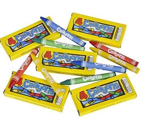 4-Pack Kid Fun Crayons - 144 Packs]()