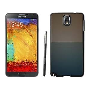 NEW Unique Custom Designed Samsung Galaxy Note 3 N900A N900V N900P N900T Phone Case With Minimalist Half Background_Black Phone Case