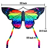 JEKOSEN Butterfly Huge Kite for Kids and Adults