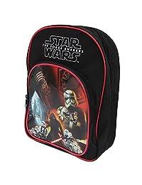 Star Wars Childrens/Kids Official The Force Awakens Backpack/Rucksack (One Size) (Black)