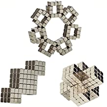 216Pcs Magnetic Square Cube 5mm blocks Multi-Use Puzzle Toys,Stress Relief magic cube DIY Puzzle Educational Toys for Kids, Adults, Teachers, Students, Office Workers.