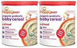 iron enriched baby food - Happy Family happy bellies Baby Cereal - Oatmeal - 7 Oz- Pack of 2