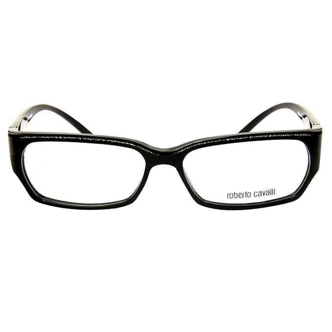 Roberto Cavalli Montura de gafas - para hombre Negro Negro Promedio ...