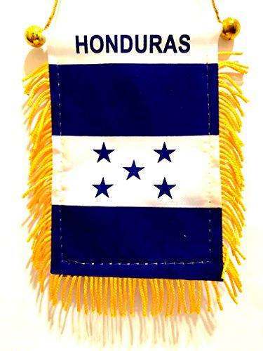 Flag Car Honduras (Honduras rearview mirror / window Flag Honduras mini Automobile car suv truck auto or Home Honduras small mini flags)