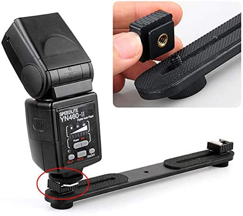 Tool Parts New Flash Hot Shoe Mount Adapter of 1//4 Screw Thread for Studio Light Stand Tripod For Canon 580EX II//580EX//550EX//540EZ