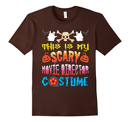 Mens This Is My Scary Movie Director Costume Halloween T-Shirt 3XL Brown - Movie Directors Costume