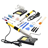 18in1 Rework Welding Soldering Iron Station Tools Kit with Iron Stand 110v 60w