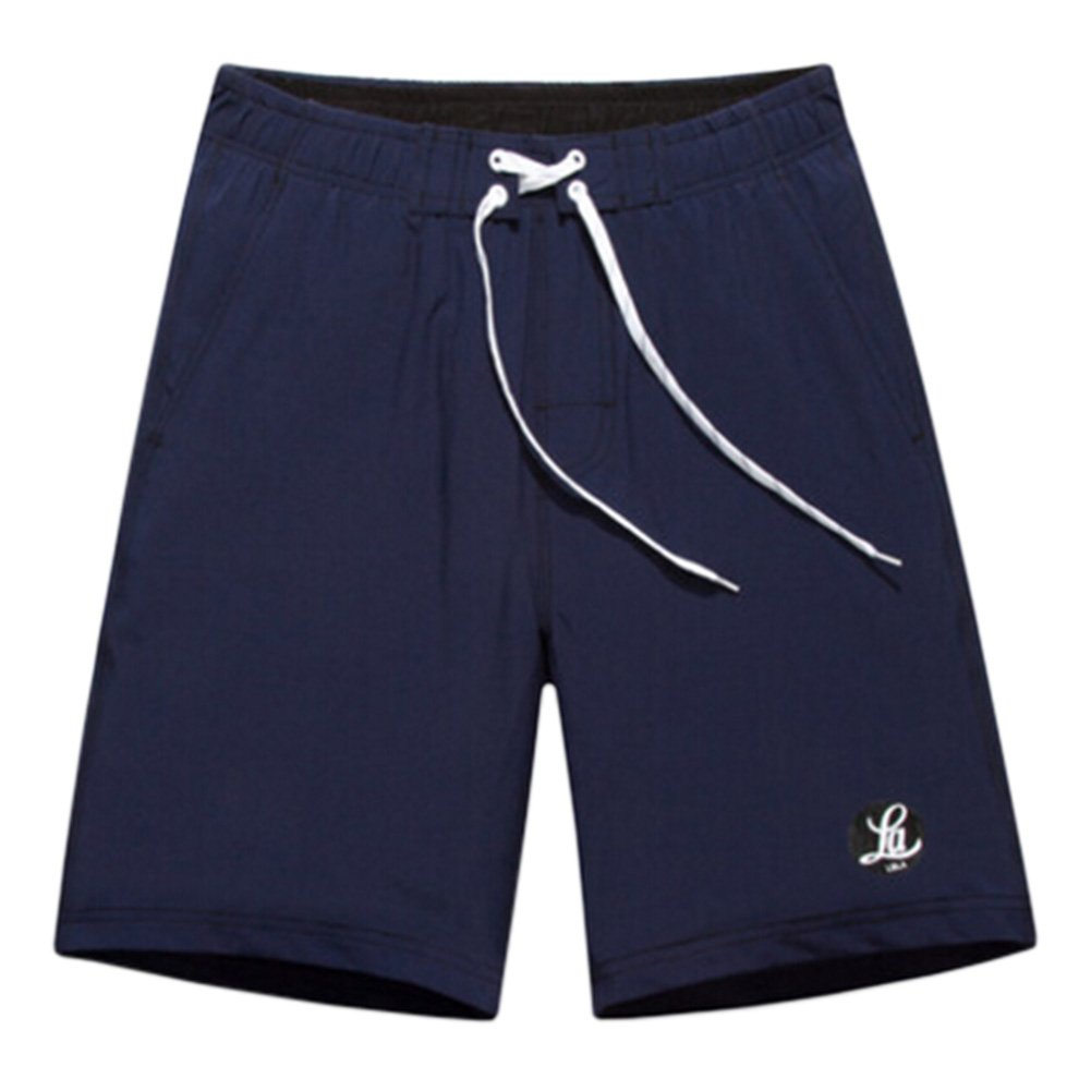 Men's Casual Shorts Beach Shorts Quick-dry Sport Shorts Swim Trunk Navy Kylin Express