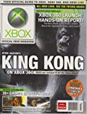 img - for OXM: Official Xbox Magazine (Xbox 360 Launch: Hands-on Report! Perfect Dark Zero, PGR3, DOA4, Need for Speed, Kameo, Peter Jackson's King Kong., Issue 52, Holiday 2005) book / textbook / text book