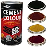 Bond-It Black 1kg Cement colour toner / dye / pigment - A tin of powdered colouring or dying pigment for toning cement, concrete & mortar by Truly PVC Supplies