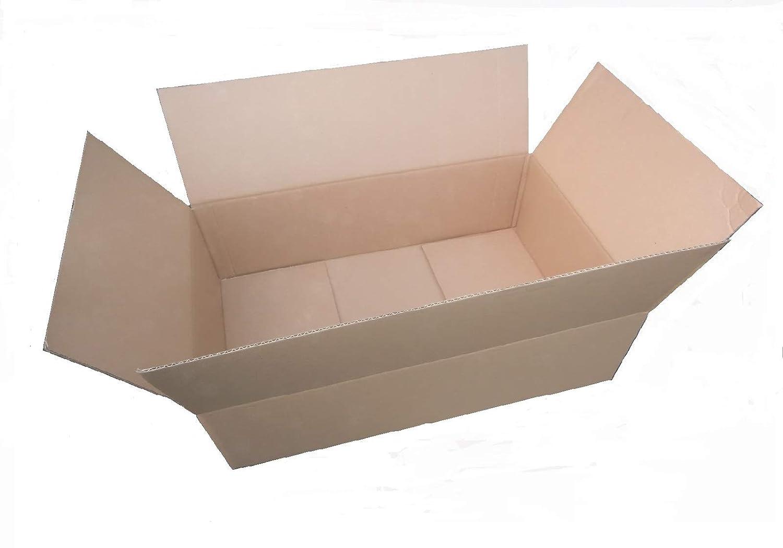50 x Cajas de Cartón 600 x 300 x 200 * 60 x 30 x 20 cartón ...