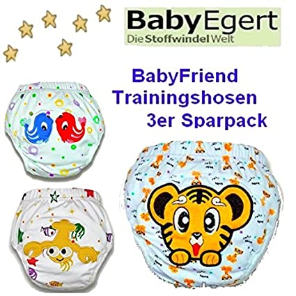 Bebé Friend ---3er Pack de ahorro lavable aprendizaje para pañales de creación de