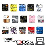 [new 3DS XL] Pokemon Omega Ruby and Alpha Sapphire Black White Limited Edition VINYL SKIN STICKER DECAL COVER for NEW Nintendo 3DS XL / LL Console System