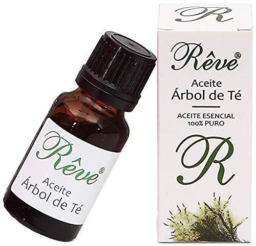 REVE Aceite de Arbol de Te Puro 100% Natural - Organico - 17 ml - Cosmetica de Calidad