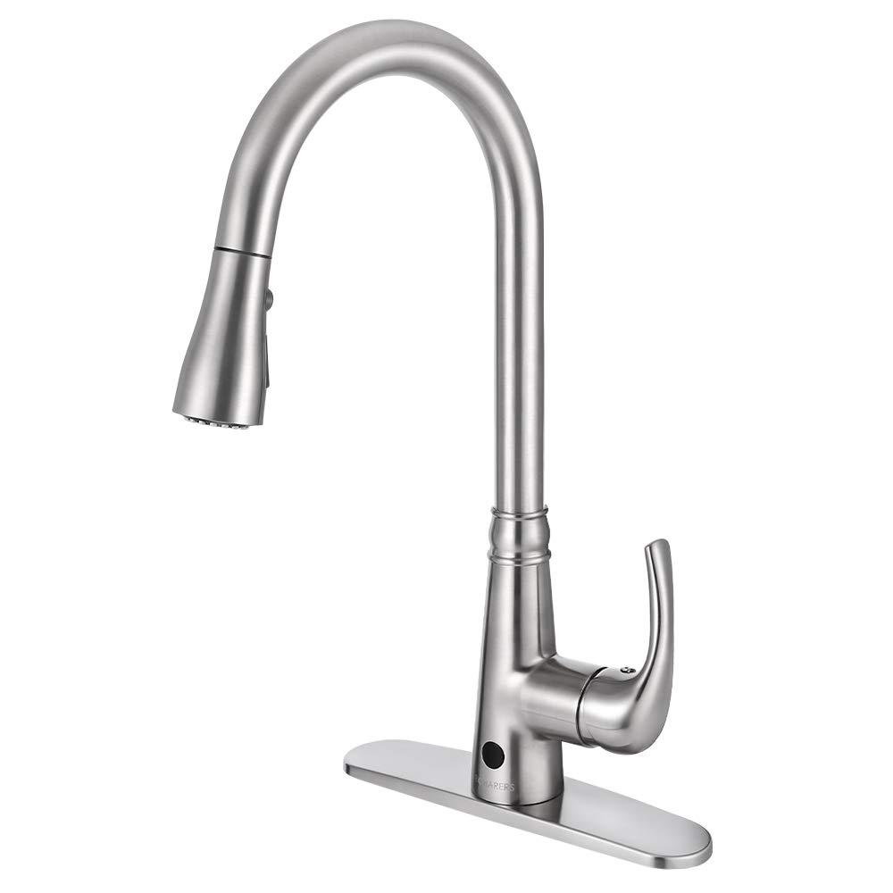 5. BOHARERS Motion Sensor Kitchen Faucet