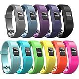 iBREK for Garmin Vivofit 3/jr/jr 2 Bands, Adjustable Replacement Wristbands with Watch Buckle for Kids Women Men(No Tracker)(Rhomboid Pattern 11 Pack)