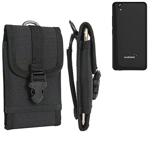bolsa del cinturón / funda para Mobistel Cynus E7, negro | caja del teléfono cubierta protectora bolso - K-S-Trade (TM)