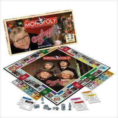 Christmas Story Monopoly Game (USAopoly MOCSTORY A Christmas Story Monopoly Game)