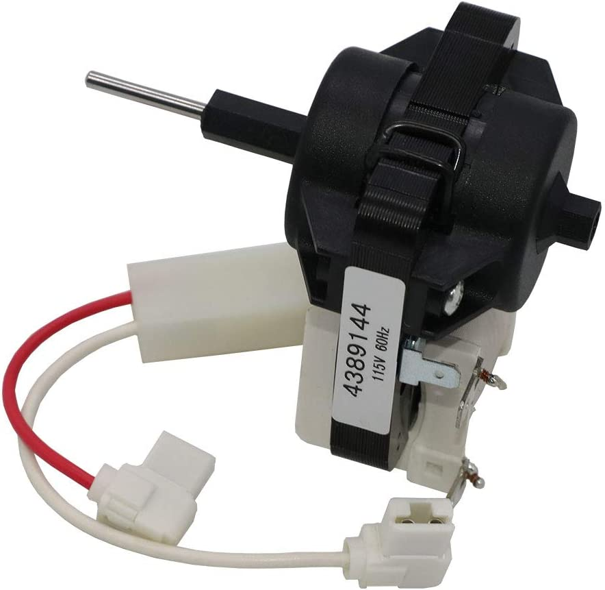 4389144 Evaporator Motor For Refrigerator By AMI,Compatible with Whirlpool, To Be Able To Replace ED25VFXHW00, ED25DQXDW05, ED25QFXHW02, ED25UEXHW00,ED25VFXHW01, ED2FHAXSB05
