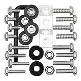 Cruiser Accessories 81500 Stainless Steel Ultimate Kit Star Pin Locking Fastener