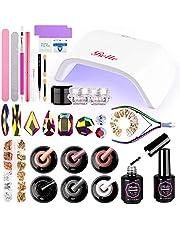 Gel nagellak kit met 18W UV LED nagellamp