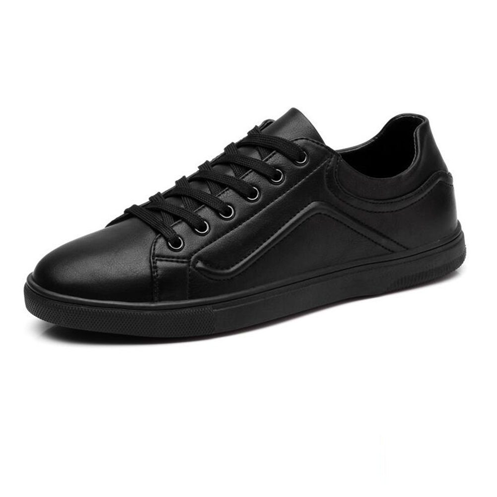 YIXINY Deporte Zapato Calzado De Hombre Ocio Estilo Británico Juventud Zapatos De Trabajo Negocios Primavera Y Verano ( Color : Negro , Tamaño : EU39/UK6/CN39 ) EU39/UK6/CN39|Negro