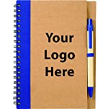 The Eco Spiral Notebook & Pen - 150 Quantity - $1.95 Each - PROMOTIONAL PRODUCT / BULK / BRANDED with YOUR LOGO / CUSTOMIZED