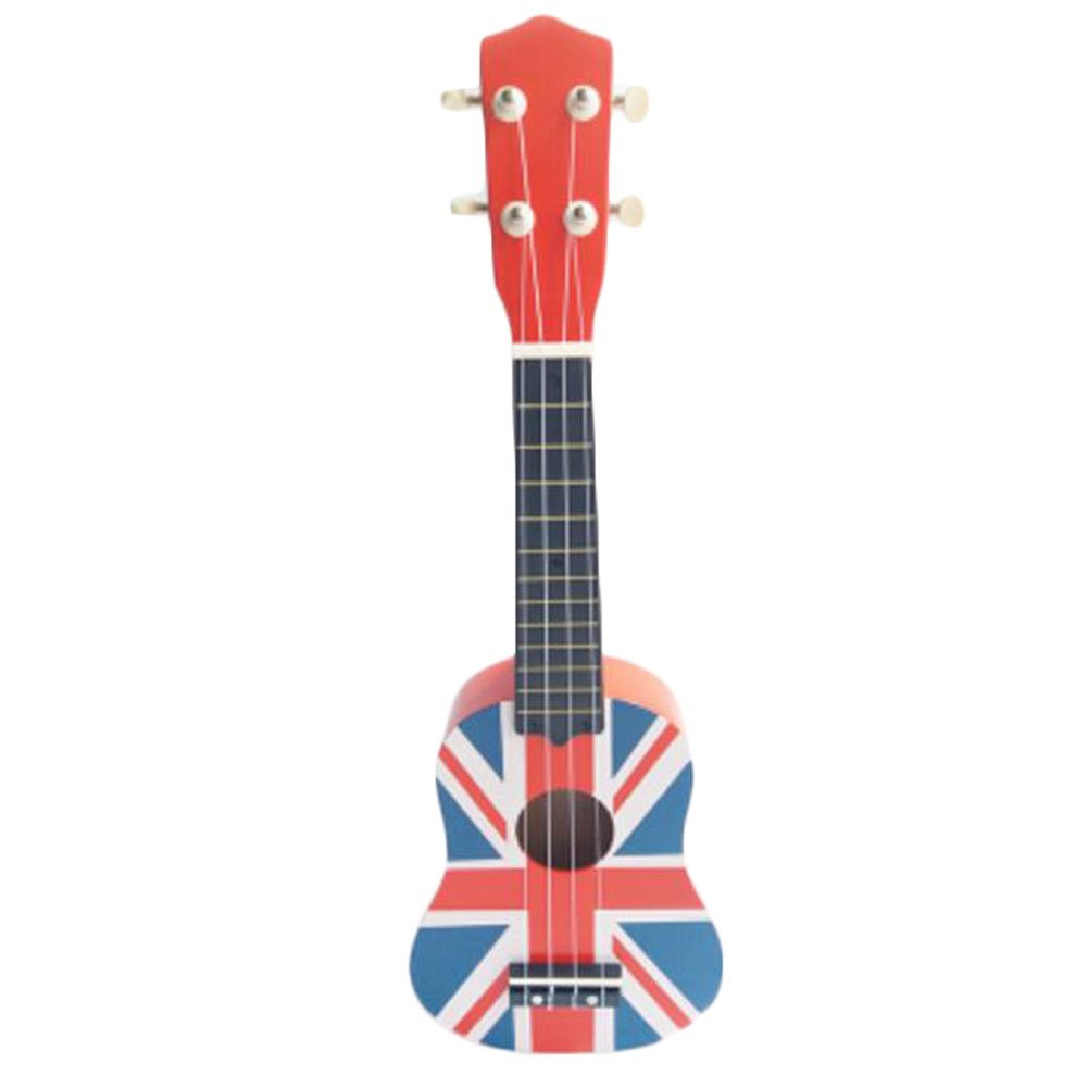 George Jimmy England Musical Instrument Mini Guitar Education Kids Toy Player Kids Gift -#12