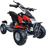 Go-Bowen Gobi Red 350W (Brush Motor) Electric ATV Ride on Toys, Ages 6 - 8