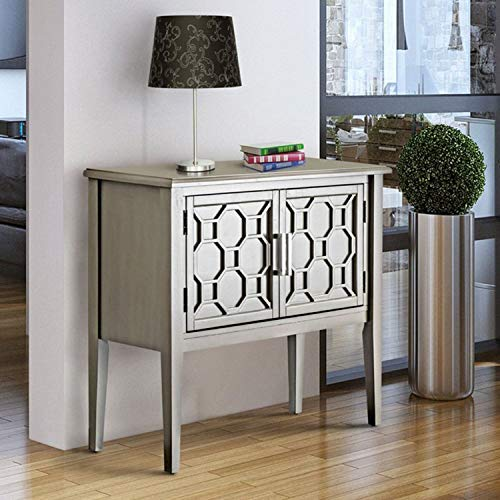 HOMES: Inside + Out Adena Hallway Cabinet, Gray
