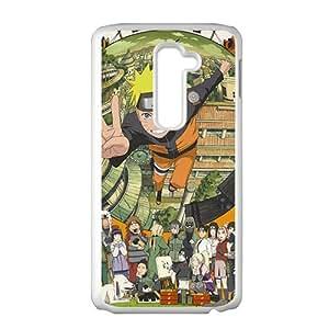 Cartoon Anime Cute White Phone Case for LG G2