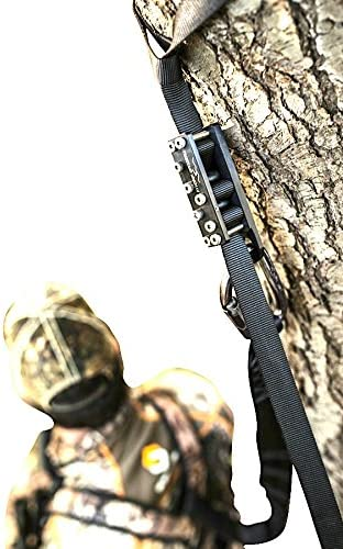 Wingman Tree Stand Safety Harness Device for Hunting Harness