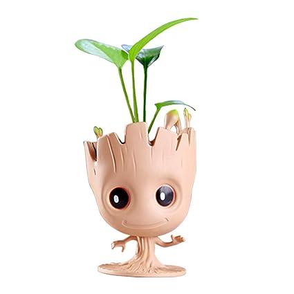 Amazon.com: Maceta para bebé, de 5.5 in, con diseño de árbol ...
