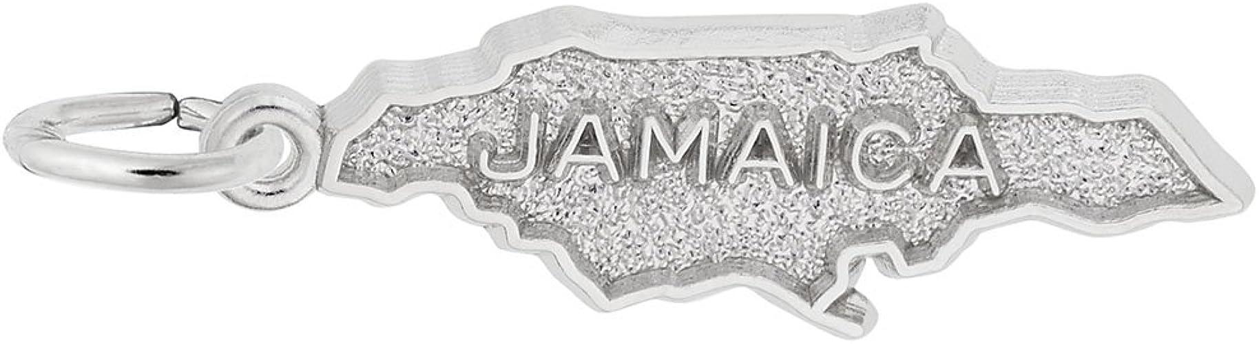 La Jamaïque Jamaïcain-Drapeau Italien Style Européen Bracelet Charm Bead