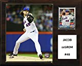 "C&I Collectables MLB New York Mets Jacob deGrom Player Plaque, 12""x15"""