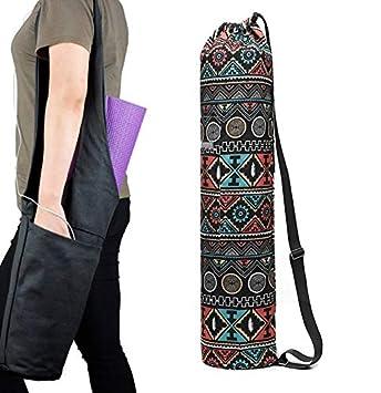 Bolsa de colchoneta de Yoga, Bolsa de Asas con Cremallera de ...