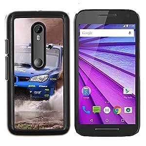 EJOOY---Cubierta de la caja de protección para la piel dura ** Motorola MOTO G3 / Moto G (3nd Generation) ** --WRX STI