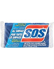 SOS All Surface Scrubber sponge, 1 count