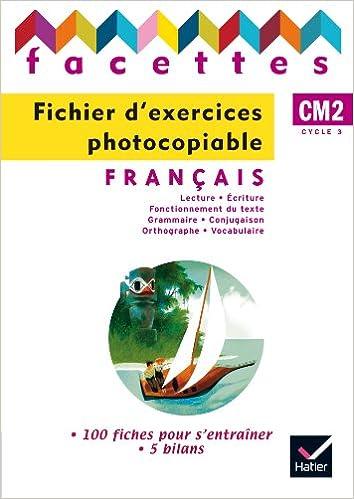 Amazon Fr Facettes Francais Cm2 Ed 2010 Fichier D