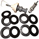 Fleck 5600 softener valve rebuild kit includes