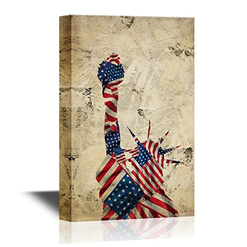 wall26 Military Family Canvas Wall Art - Statue