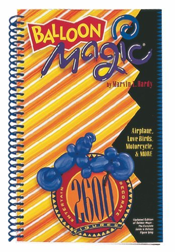 Balloon Magic Figure Book 260Q by - Balloon Magic Book