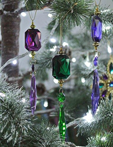 Gisela graham christmas decoration Crystal Glass Drop Brand New