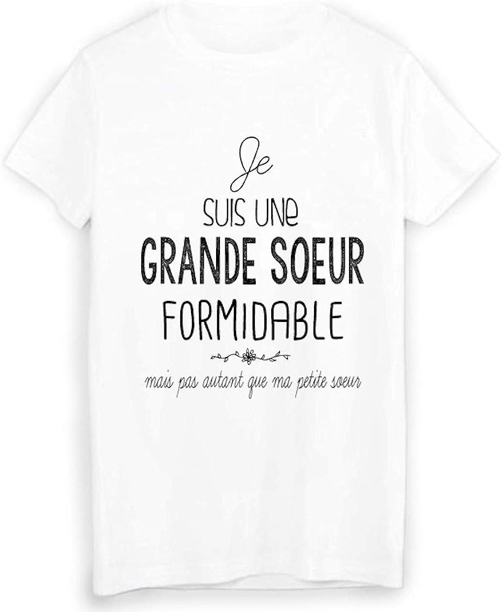 Youdesign Fr T Shirt Je Suis Une Grande Soeur Formidable Humour Ref 1956 Amazon Fr Vetements Et Accessoires