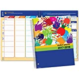 """Dated Elementary Student Planner for Academic Year 2017-2018 (Matrix Style - 8.5""""x11"""")"""